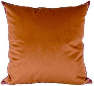 Almofada Decorativa Laranja-50 x 50-Com Enchimento-Veludo