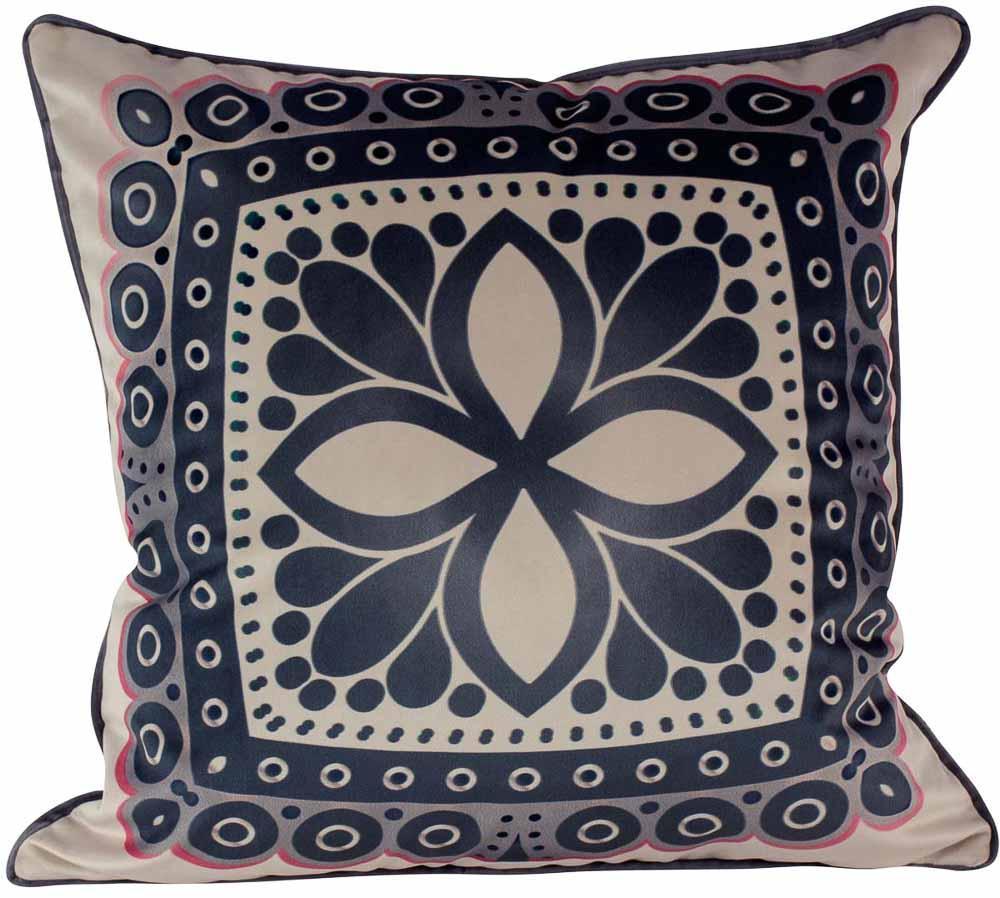 Almofada Arabesco -50 x 50-Com Enchimento-Veludo