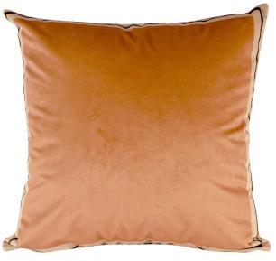 Almofada Decorativa Laranja-50 x 50-Com Enchimento-Poliester com Algodao