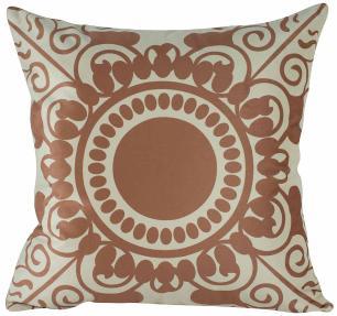 Almofada Mandala Rose Gold 45 x 45 Com Enchimento Veludo