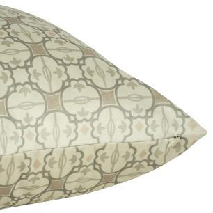 Almofada Arabesco Nude 45 x 45 Com Enchimento Veludo