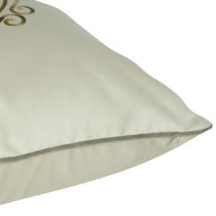 Almofada Arabesco Bege 50 x 50 Com Enchimento Veludo