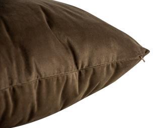Almofada Marrom 45 x 45 Com Enchimento Veludo