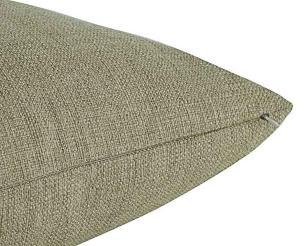 Almofada Tecido Bege-50 x 50-Com Enchimento-Veludo