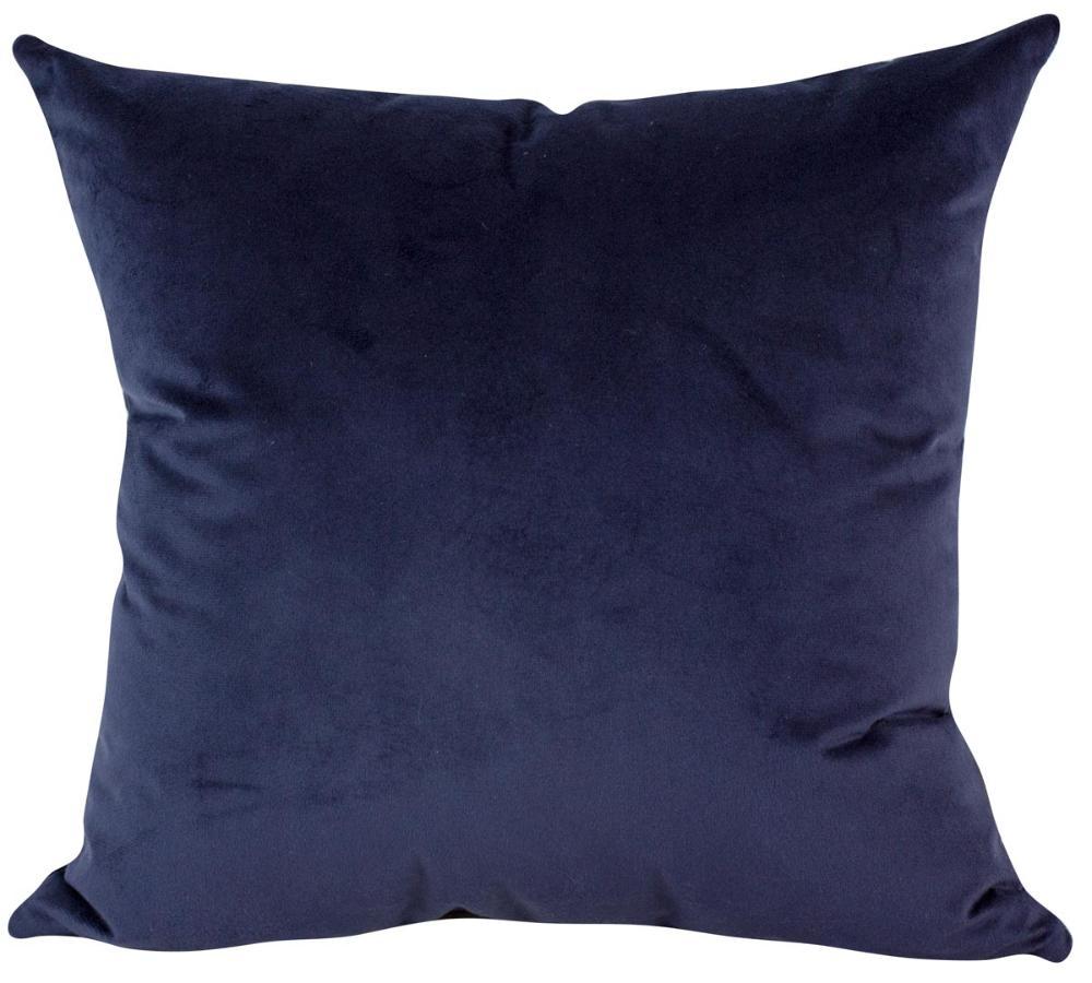 Almofada Azul-50 x 50-Sem Enchimento-Veludo