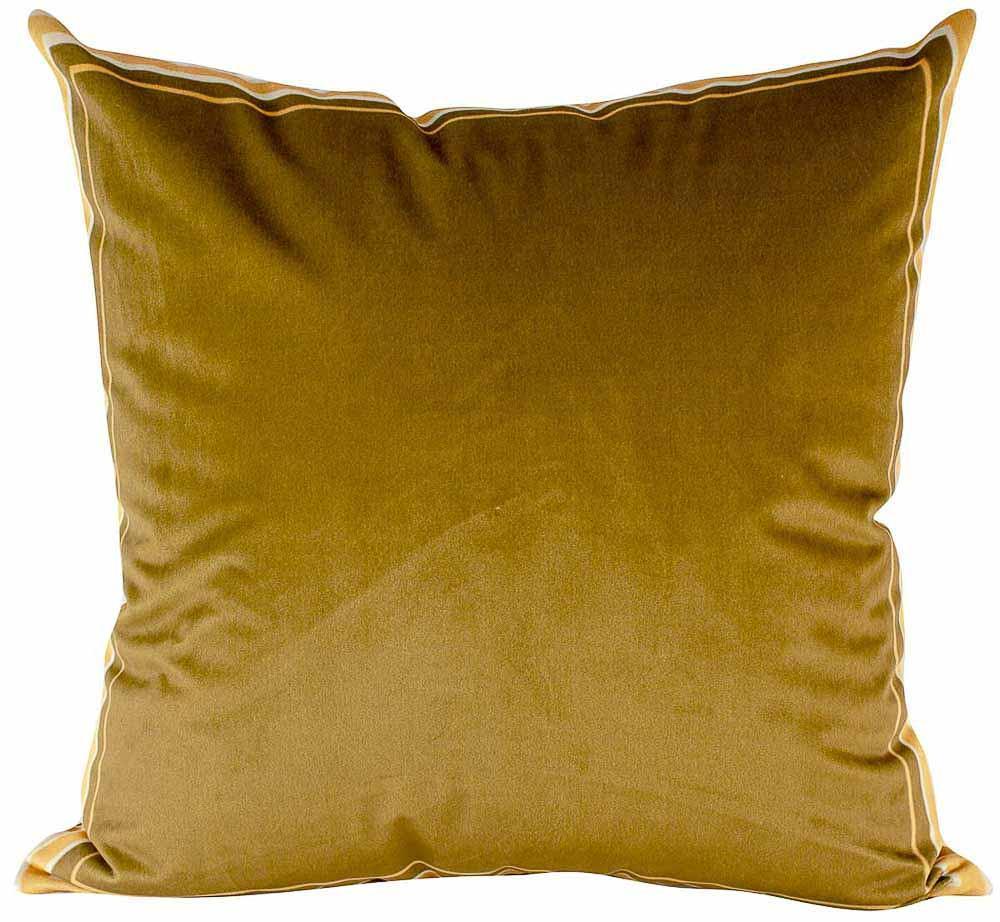 Almofada Decorativa Dourada-50 x 50-Sem Enchimento-Veludo