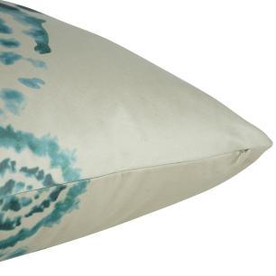 Almofada Arabesco Aqua 45 x 45 Com Enchimento Veludo