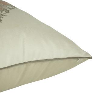 Almofada Arabesco Laranja 45 x 45 Com Enchimento Veludo