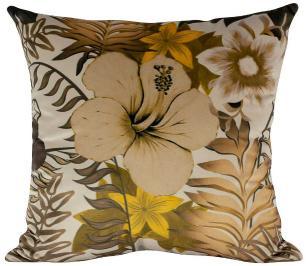 Almofada Floral-50 x 50-Com Enchimento-Veludo