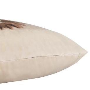 Almofada Decorativa Leão Africano 50 x 50 Com Enchimento Veludo
