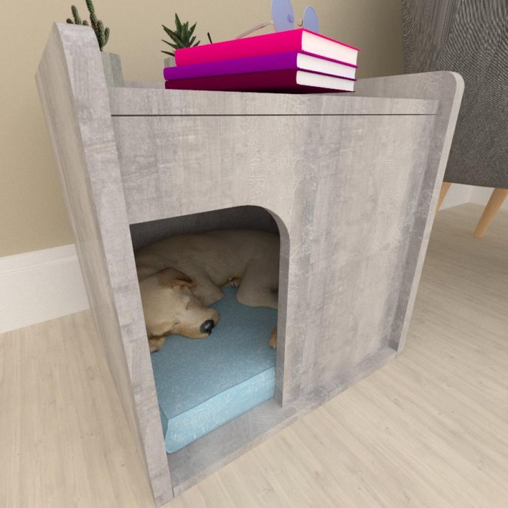 Casinha criado mudo para cachorro mdf Rustico