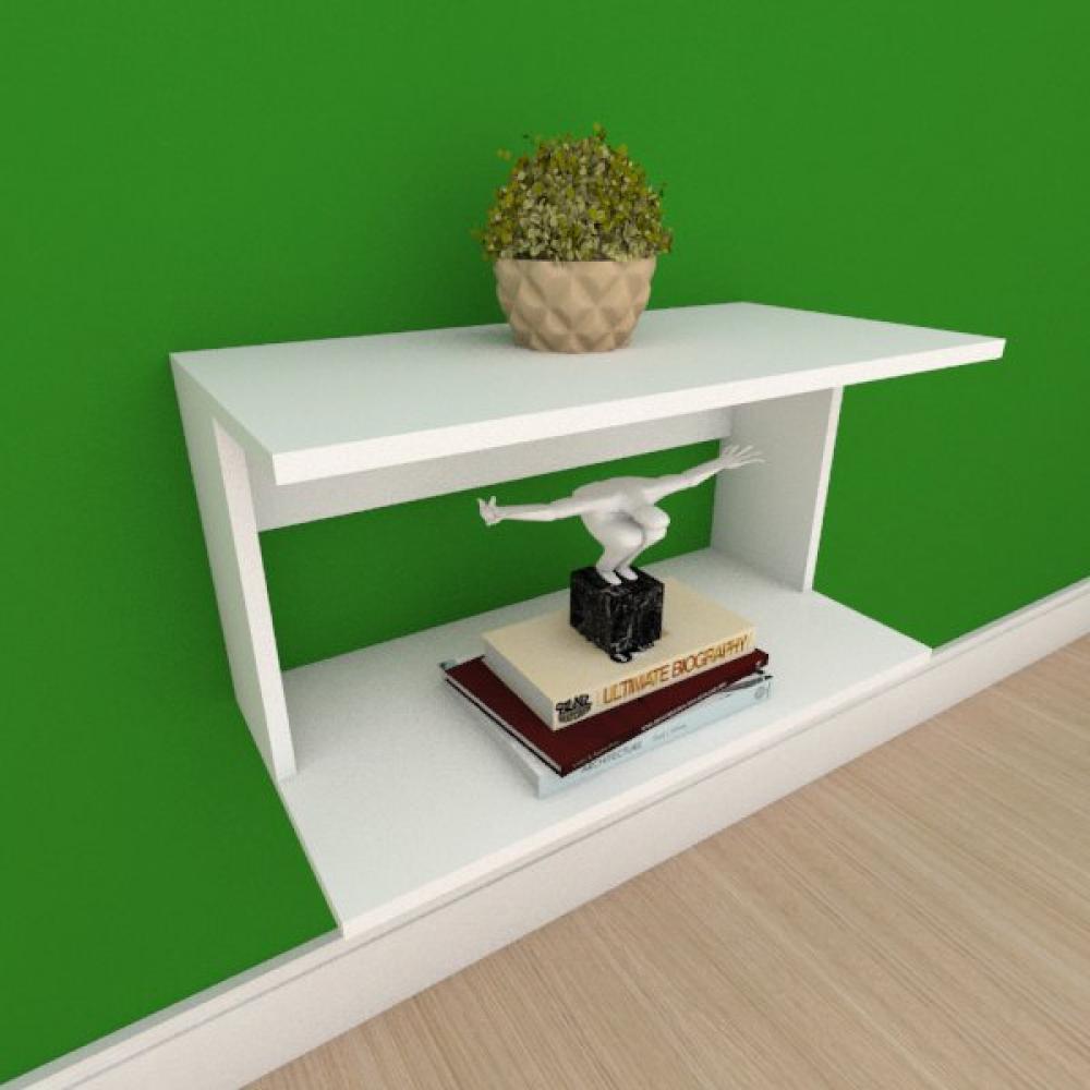 Rack pequeno Moderno simples em mdf branco