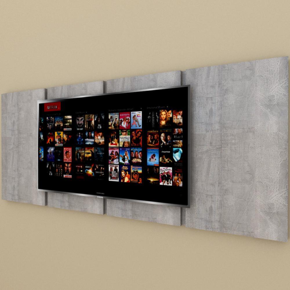 Painel Tv pequeno moderno rustico