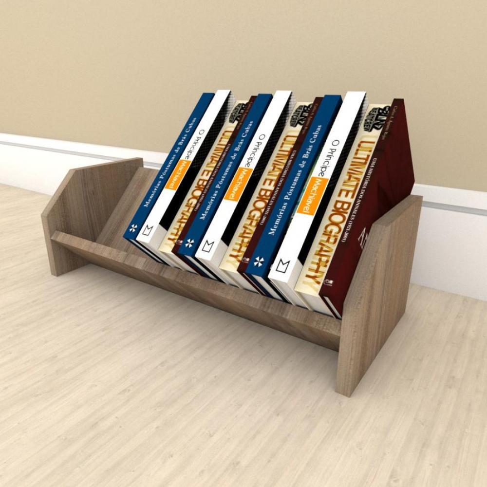 Prateleira para livros em mdf Amadeirado