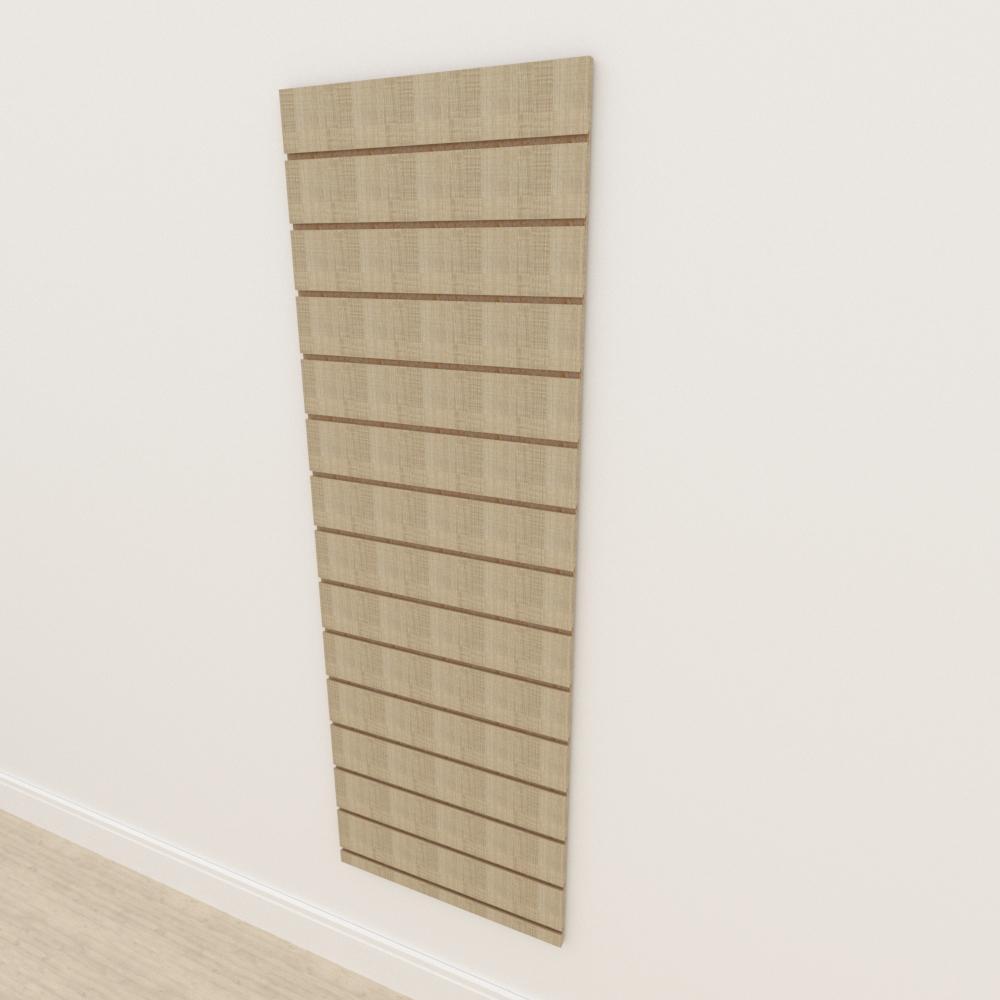 Painel canaletado 18mm amadeirado claro altura 180 cm comp 60 cm