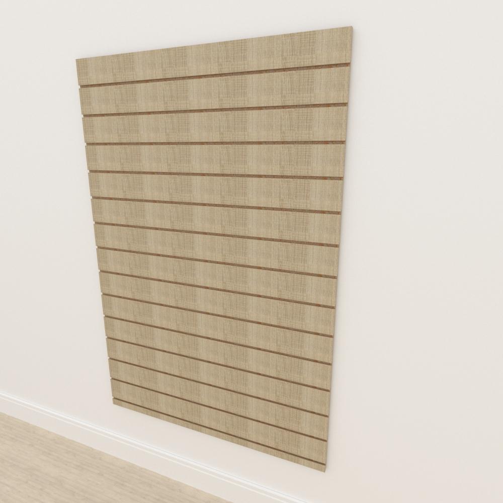 Painel canaletado 18mm amadeirado claro altura 180 cm comp 120 cm
