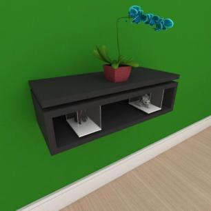 Rack pequeno Moderno minimalista em mdf preto