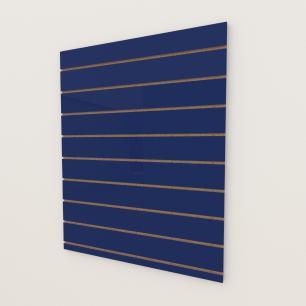 Painel canaletado 18mm Azul Escuro Soft altura 120 cm comp 90 cm