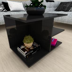 Estante de Livros moderna preto