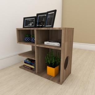 Mesa de Cabeceira simples em mdf Amadeirado