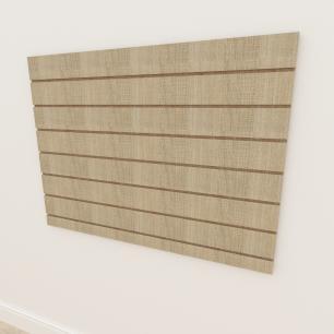 Painel canaletado 18mm amadeirado claro altura 90 cm comp 120 cm