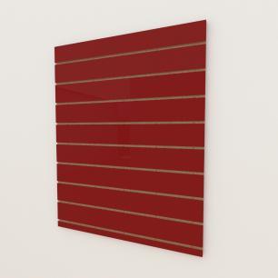Painel canaletado 18mm Vermelho Escuro Tx altura 120 cm comp 90 cm