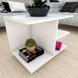 Estante de Livros moderna Branco
