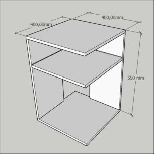 mesa de canto, mesa lateral sofá, em mdf preto