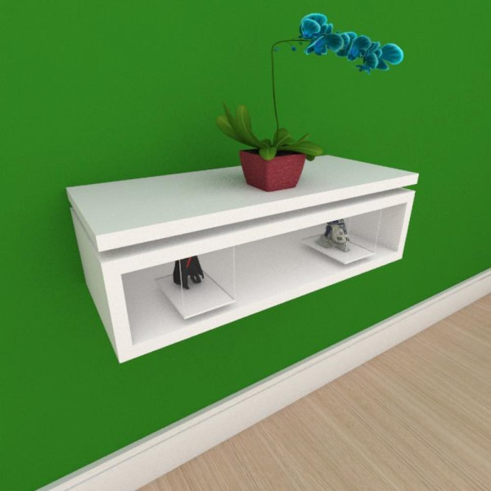 Rack pequeno Moderno minimalista em mdf branco
