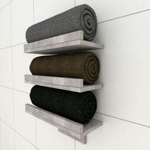 Prateleiras para toalhas rustico