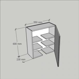 Armário multi uso para em mdf Rustico