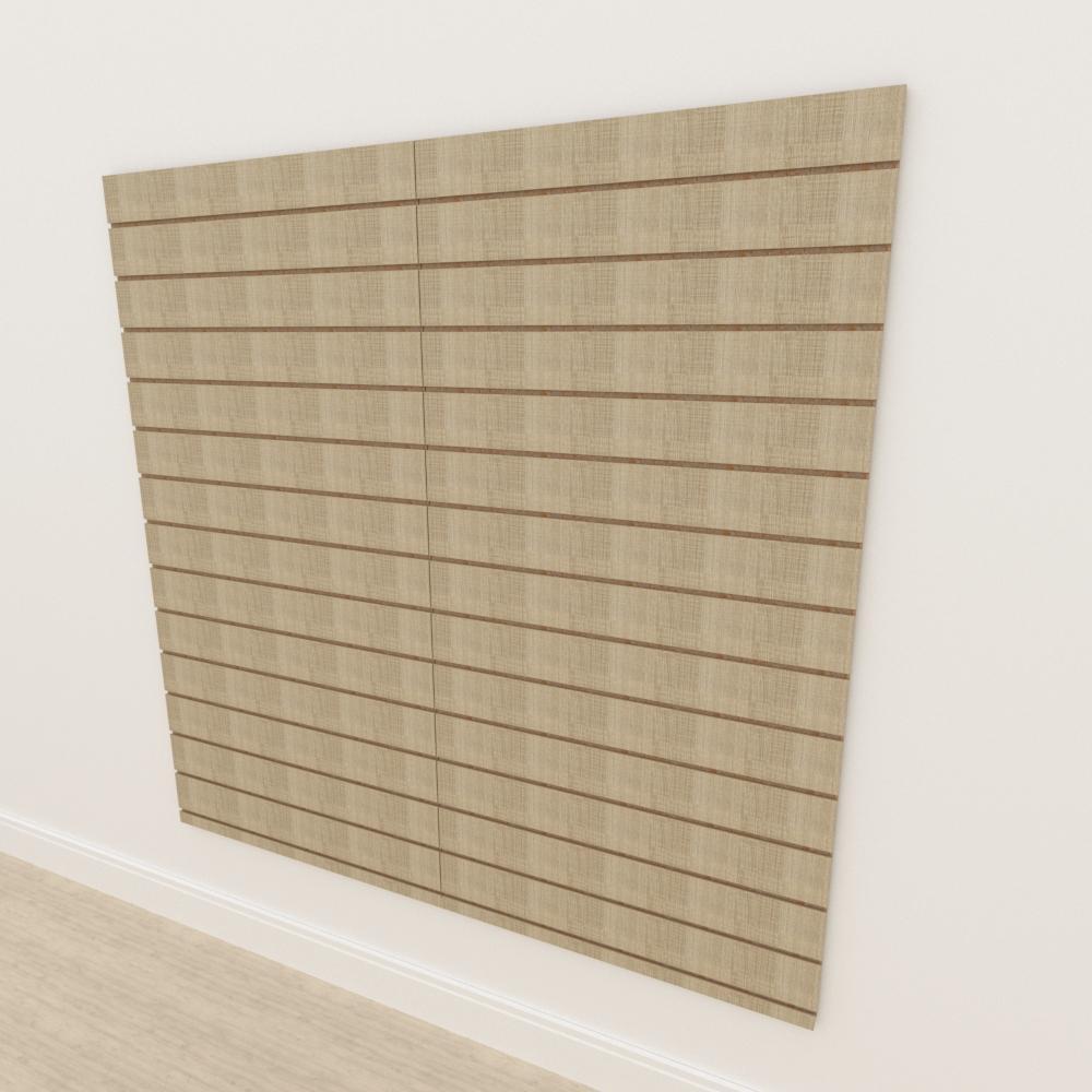 Painel canaletado 18mm amadeirado claro altura 180 cm comp 180 cm