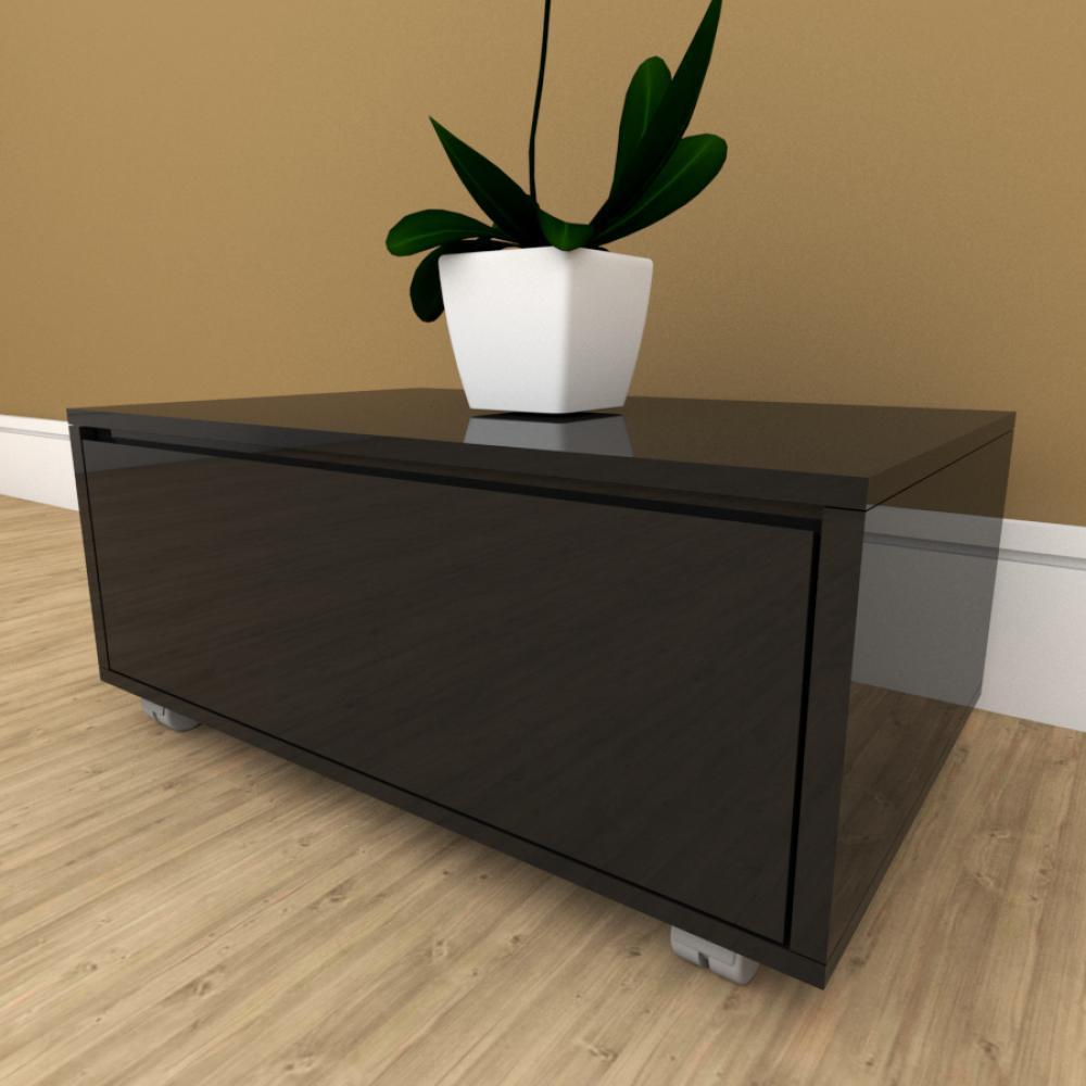 Mesa de cabeceira preto