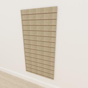 Painel canaletado 18mm amadeirado claro altura 180 cm comp 90 cm
