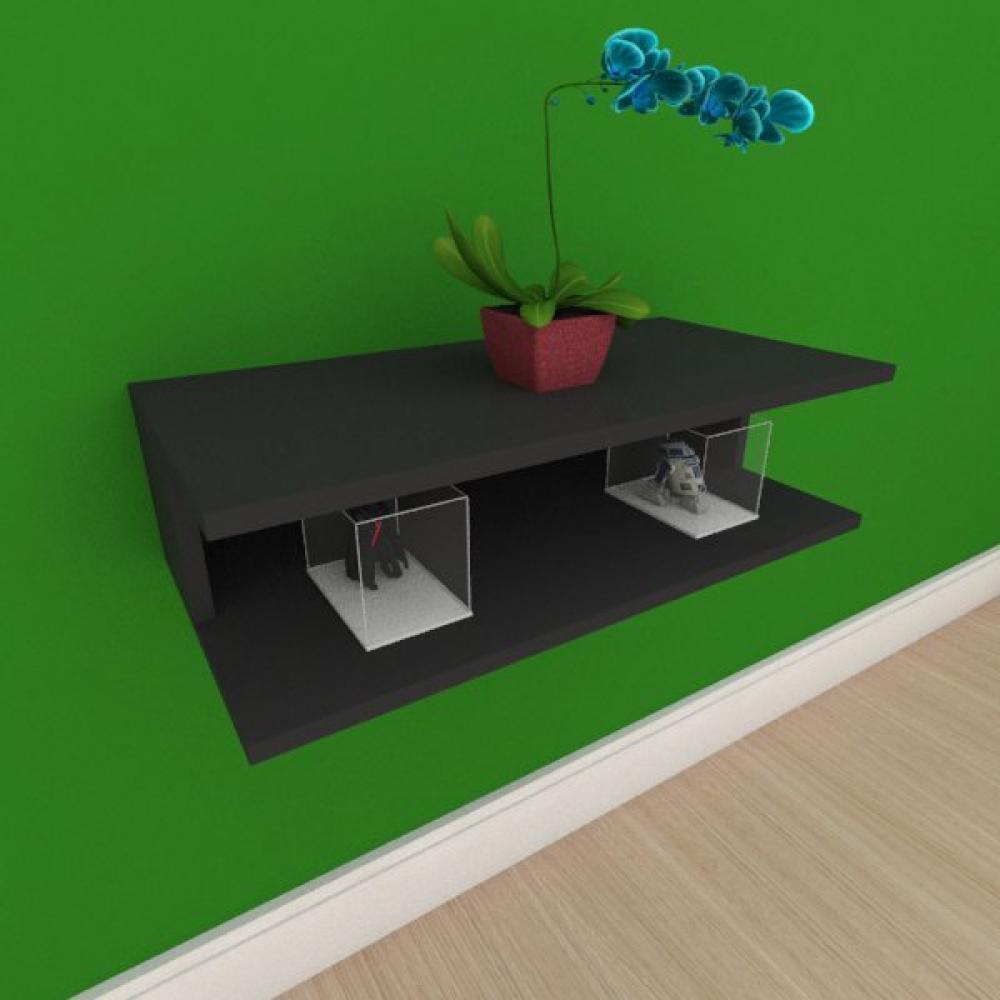 Rack pequeno Moderno simples em mdf preto