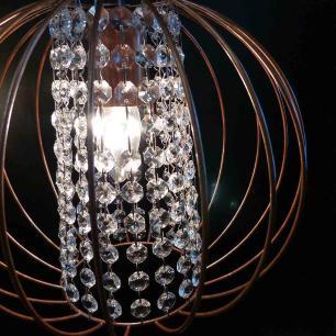 Pendente Aramado com Cristal | PD-124