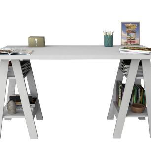 Mesa Escrivaninha Self 3003 Branco - Appunto
