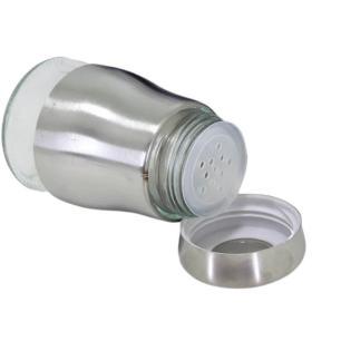 Porta Condimento Giratório em Inox com 6 Recipientes Unyhome
