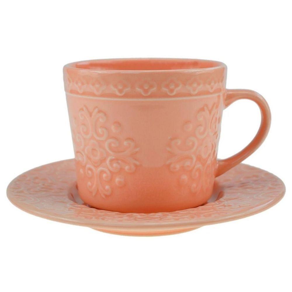 Conjunto 4 Xícaras De Chá 250ml De Porcelana - Rojemac