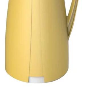 Garrafa Térmica Pop Latter em Plástico 1L Amarelo Full Fit
