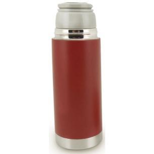 Garrafa Térmica Vermelha Aço Inox Parede Dupla - Mimo Style