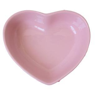 Bowl Coração em Cerâmica 18x16cm Rosa – Silveira