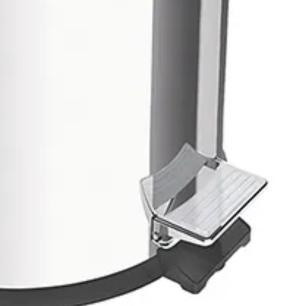 Lixeira c/ Pedal 3 Litros Inox c/ Balde Removível Tramontina
