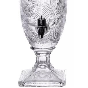 Suqueira Folhagem em Cristal Transparente 45cm - Full Fit