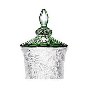 Suqueira Cristal com Folhagem Ecológica 2L Cor Verde- FULL FIT