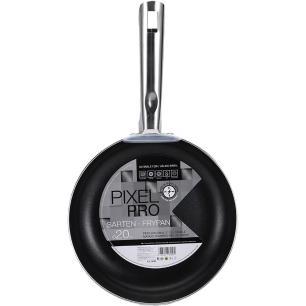 Frigideira Wok Pixel Pro Indução em Alumínio Ø28cm Preta