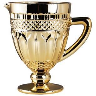 Jarra Vidro Brand Dourado Metalizado - Rojemac
