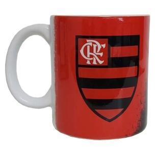 Kit Flamengo Com Pescoceira e Caneca 330ml - 2 Peças