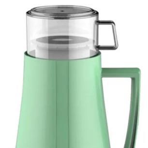 Garrafa Térmica Pop Latter em Plástico 1L Verde - Full Fit