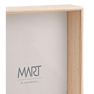 Porta Retrato Natural em MDF 20x25 cm Madeira - Mart